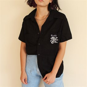 Guess vintage unisex oldschool 90s collection gömlek