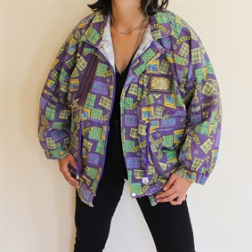 Vintage unisex 90s collection colourfull mont