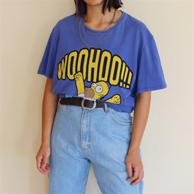 The Simpsons Vintage unisex 90s collection t-shirt